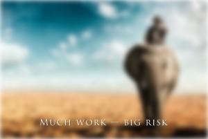 Большая работа — большие риски