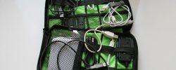 Органайзер с кабелями